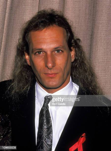 Michael Bolton during Share the Dream TJ Martell Foundation Benefit April 25 1992 at West Village in New York City New York United States