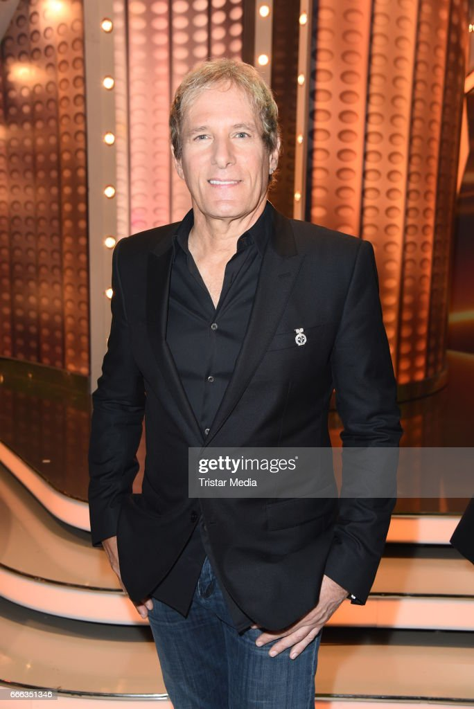 Michael Bolton during the after show party of the television show 'Willkommen bei Carmen Nebel' on April 8, 2017 in Magdeburg, Germany.