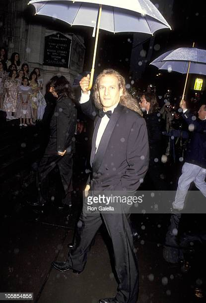 Michael Bolton during Wedding of Mariah Carey and Tommy Mottola at St Thomas Episcopal Church/Metropolitan Club in New York City NY United States