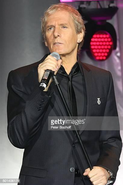 """Michael Bolton, Gala 32. """"Deutscher Sportpresseball"""", Alte Oper, Frankfurt, Hessen, Deutschland, Europa, Auftritt, Bühne, Mikro, singen, Sänger..."""