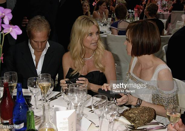 Michael Bolton Nicolette Sheridan and Jo Elvin attend the Glamour Women Of The Year Awards the annual awards recognising the achievement of women...
