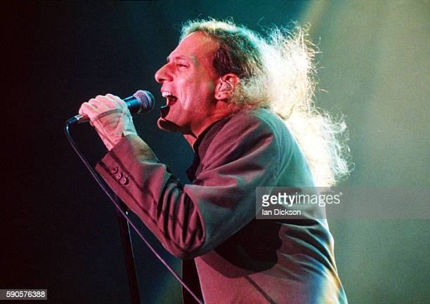 Michael Bolton performing on stage at Wembley Arena London 11 November 1991
