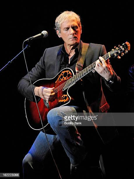 Michael Bolton performs in concert at State Theatre on February 20 2013 in New Brunswick New Jersey