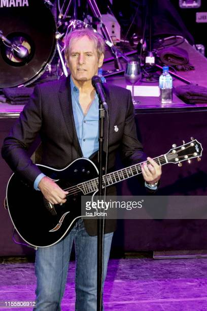 Michael Bolton performs live on stage during the Thurn & Taxis Castle Festival on July 15, 2019 in Regensburg, Germany.