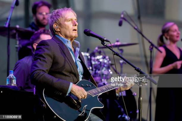 Michael Bolton performs live on stage during the Thurn Taxis Castle Festival on July 15 2019 in Regensburg Germany