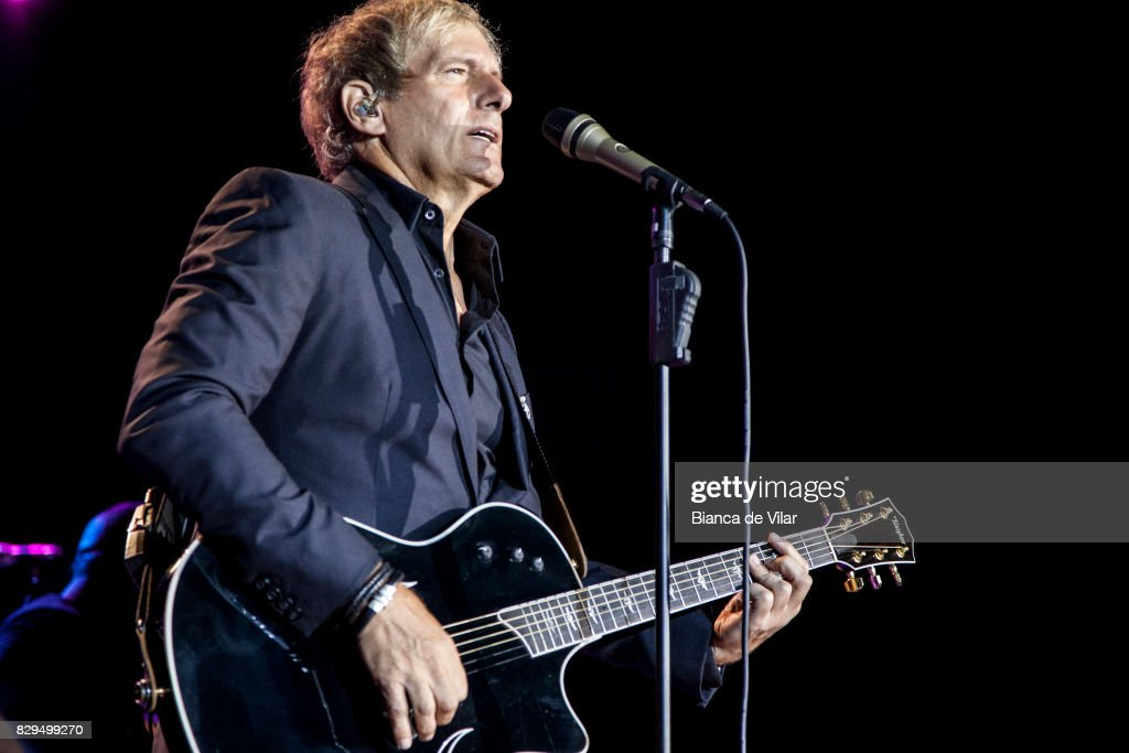 Michael Bolton Performs in Concert in Marbella : News Photo