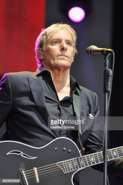 Michael Bolton performs on stage during the Day 2 at Donauinselfest 2017 at Donauinsel on June 24 2017 in Vienna Austria