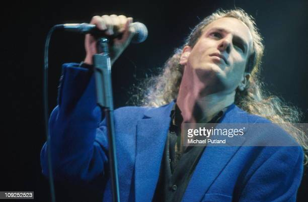 Michael Bolton performs on stage London 1996