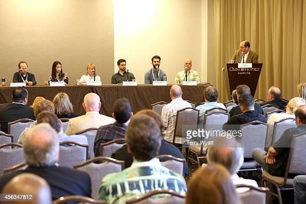 Michael Boltzman of AEG Live Natalka Dudynsky of ICM Partners Gayle Holcomb of WME Jon Romero of Vector Management Joe Rosenberg of AM Only Rick...