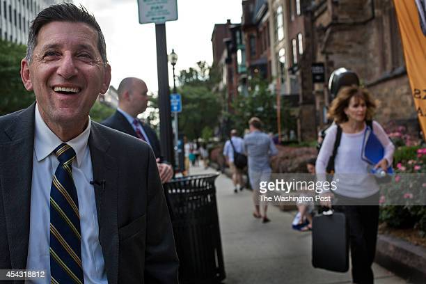 Michael Botticelli Acting Director of National Drug Control Policy visited Newbury Street in Boston near the church where he first began attending AA...