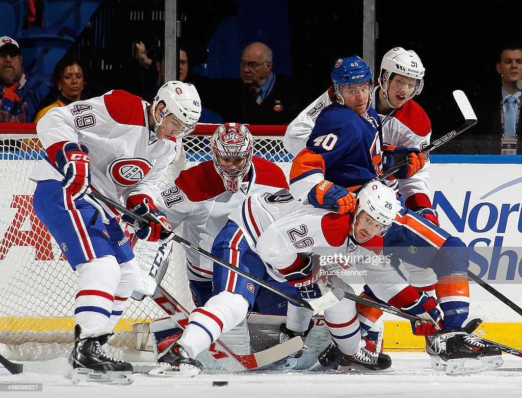 Montreal Canadiens v New York Islanders : ニュース写真