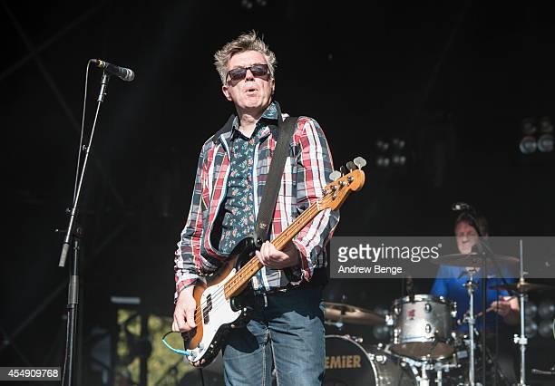 Michael Bradley of The Undertones perform on stage for Festival No6 on September 7 2014 in Portmeirion United Kingdom