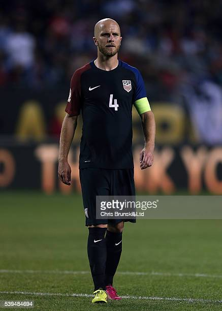 Michael Bradley of the United States looks on during the Copa America Centenario Group A match between the United States and Costa Rica at Soldier...