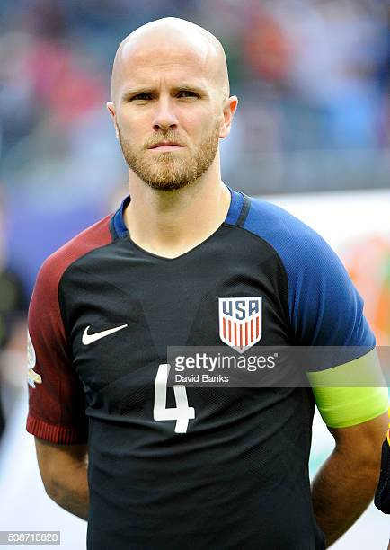 Michael Bradley of United States looks on prior a group A match between United States and Costa Rica at Soldier Field as part of Copa America...