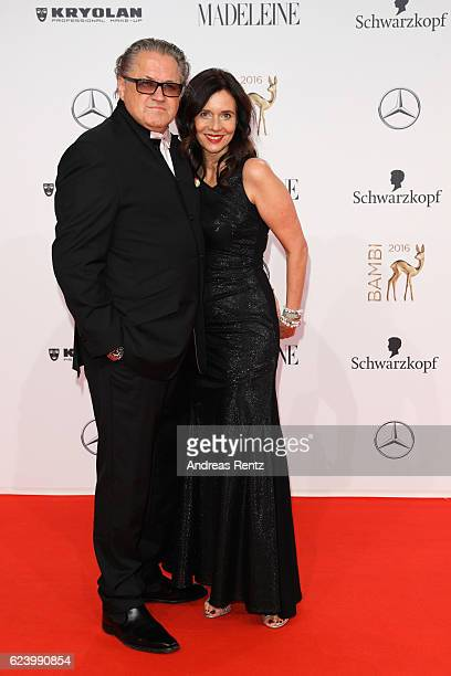 Michael Brandner and his wife Karin arrive at the Bambi Awards 2016 at Stage Theater on November 17 2016 in Berlin Germany