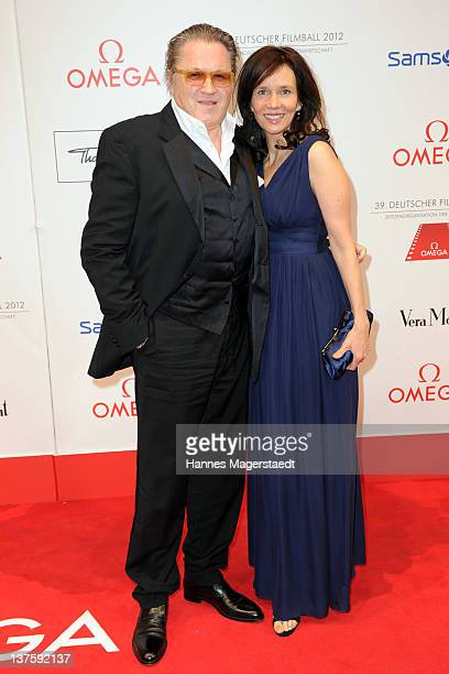 Michael Brandner and his wife Karin attend the German Filmball at the Hotel Bayerischer Hof on January 21 2012 in Munich Germany