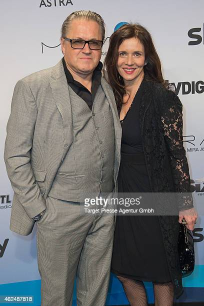 Michael Brandner and his wife Karin attend the Mira Award 2015 at Station on January 29 2015 in Berlin Germany