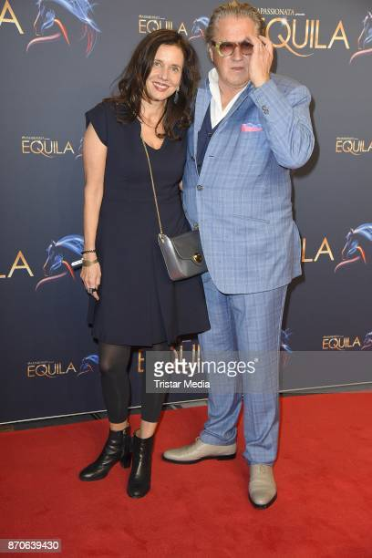 Michael Brandner and his wife Karin Brandner during the world premiere of the horse show 'EQUILA' at Apassionata Showpalast Muenchen on November 5...