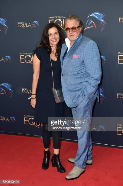 Michael Brandner and is wife Karin Brandner during the world premiere of the horse show 'EQUILA' at Apassionata Showpalast Muenchen on November 5...