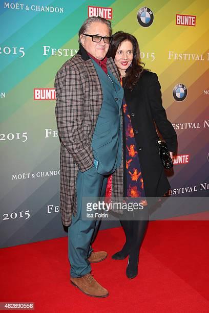 Michael Brandner and Karin Brandner attend the Bunte BMW Festival Night 2015 on February 06 2015 in Berlin Germany