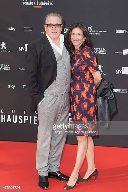 Michael Brandner and Karin Brandner attend the 'Deutscher Schauspielerpreis 2015' at Zoopalast on May 29 2015 in Berlin Germany