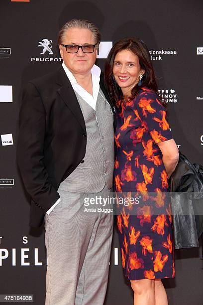 Michael Brandner and Karin Brandner attend the 'Deutscher Schauspielerpreis 2015' at Zoo Palast on May 29 2015 in Berlin Germany