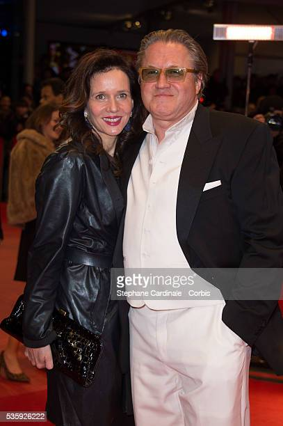 Michael Brandner and Karin Brandner attend 'The Monuments Men' Premiere during the 64th Berlinale International Film Festival at Berlinale Palast in...