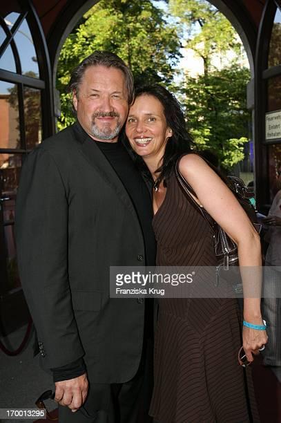 Michael Brandner and wife Karin In Munich Bavaria reception When the Munich Film Festival in Park in Bavaria Film