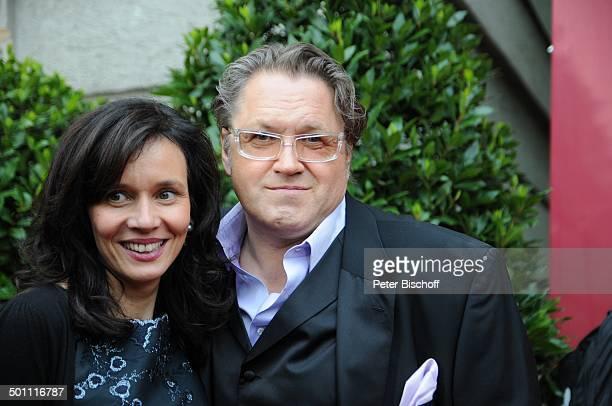 Michael Brandner Ehefrau Karin Brandner 21 Bayerischer Fernsehpreis 2009 Preis Der Blaue Panther Prinzregententheater München Bayern Deutschland...
