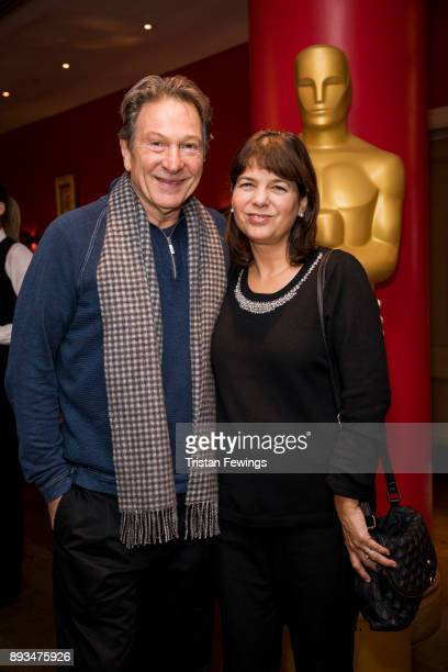 Michael Brandon and Carola Ash attend the Academy of Motion Picture Arts Sciences official Academy screening of Star Wars The Last Jedi at Ham Yard...