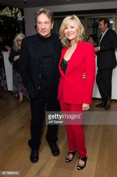 Michael Brandon and Glynis Barber attend as auction house hosts champagne reception to preview a selection of the 1000lot estate of the late author...