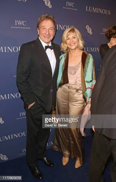 Michael Brandon and Glynis Barber attend the BFI IWC Luminous Gala at The Roundhouse on October 1 2019 in London England During the event...
