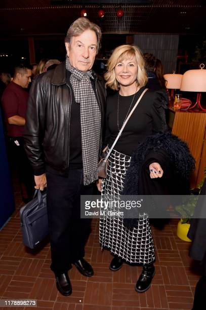 Michael Brandon and Glynis Barber attend the launch of Jo Wood's new book Stoned Photographs Treasures From Life With The Rolling Stones at The...