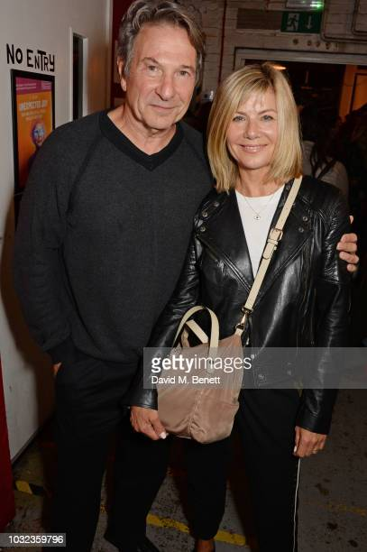 Michael Brandon and Glynis Barber attend the press night after party for Wasted at the Southwark Playhouse on September 12 2018 in London England