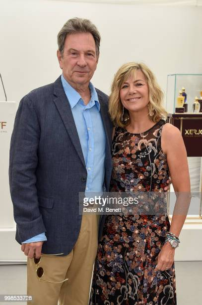 Michael Brandon and Glynis Barber attend the Xerjoff Royal Charity Polo Cup 2018 on July 14 2018 in Newbury England