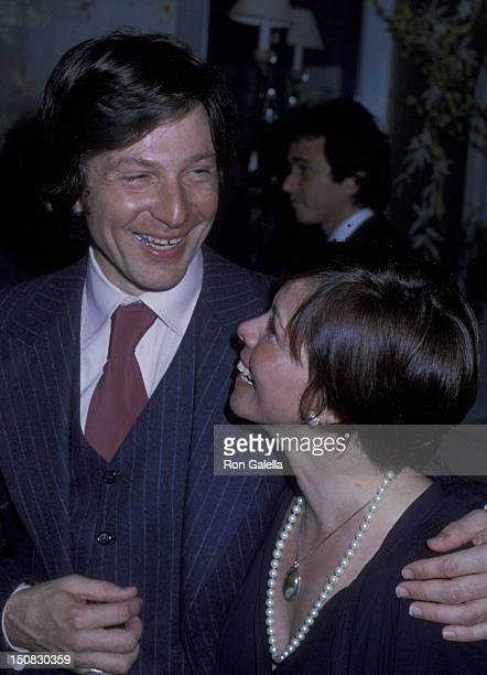 Michael Brandon and Neile Adams at the party for 'Look Magazine' on February 14 1979 at Jimmy's Restaurant in Beverly Hills California