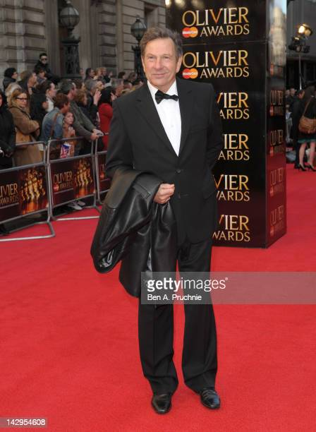 Michael Brandon attends the 2012 Olivier Awards at The Royal Opera House on April 15 2012 in London England