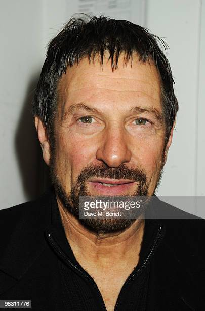 Michael Brandon attends the press night of 'Wet Weather Cover' at the Arts Theatre on April 7 2010 in London England