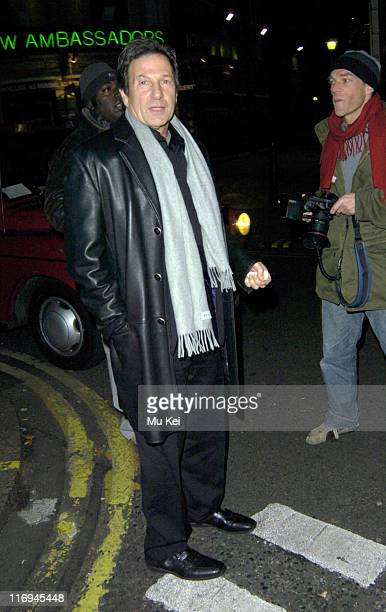 Michael Brandon during Michael Brandon and Glynis Barber Sighting at the Ivy Restaurant in London November 17 2005 at The Ivy Restaurant in London...