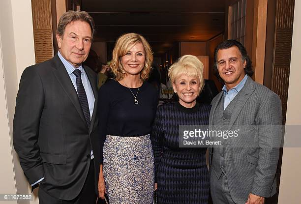 Michael Brandon Glynis Barber Dame Barbara Windsor and Scott Mitchell attend an after party following Dame Joan Collins' one woman show 'Joan Collins...