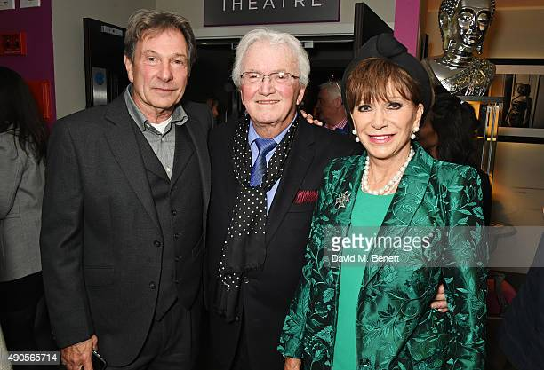 Michael Brandon Leslie Bricusse and Yvonne Romain attend the press night of Pure Imagination The Songs of Leslie Bricusse at the St James Theatre on...