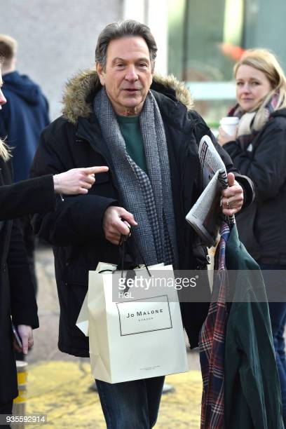 Michael Brandon seen at the ITV Studios on March 21 2018 in London England