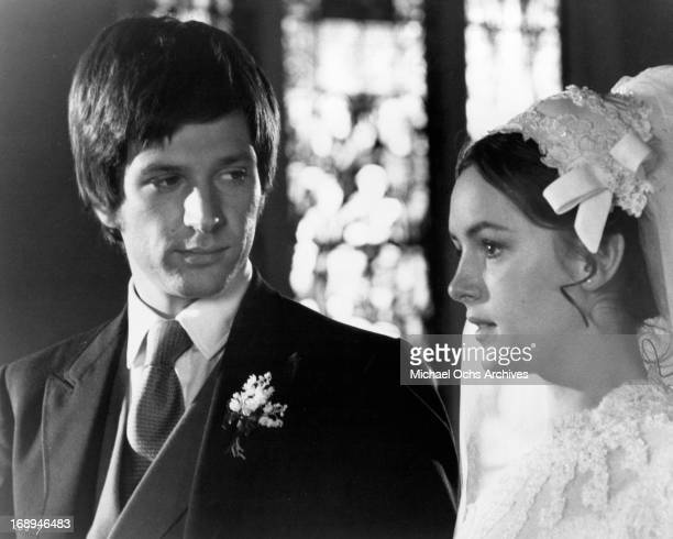 Michael Brandon weds Bonnie Bedelia in a scene from the film 'Lovers And Other Strangers' 1970