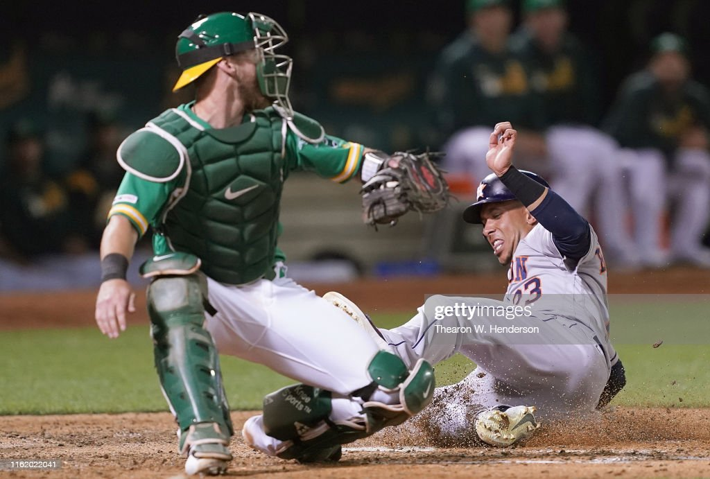 Houston Astros v Oakland Athletics : News Photo