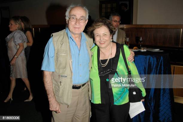Michael Braun and Rachel Braun attend An Evening of Piano in Various Genres Hosted by Lora Fred Drasner at Carnegie Hall on June 12 2010 in New York...