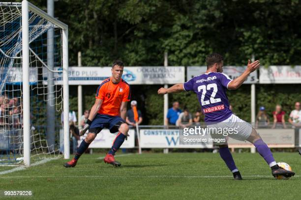 Michael Breij of FC Groningen during the Club Friendly match between vv 't Fean '58 v FC Groningen at the Sportpark It Ketting on July 7 2018 in...