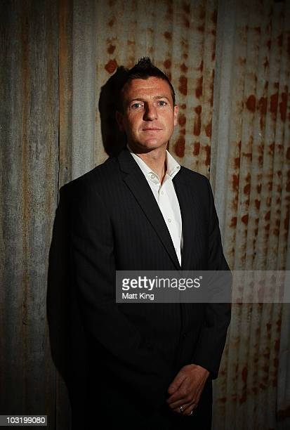 Michael Bridges of the Newcastle Jets poses during the 201011 ALeague season launch at Simmer on the Bay on August 2 2010 in Sydney Australia