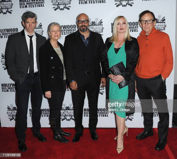 Michael Broderick Roslyn Gentle Chris Roe Traci Lords and Monte Markham arrive for The 2019 Hollywood Reel Independent Film Festival held at Regal LA...