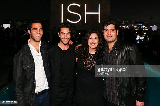 Michael Broukhim Joey Maalouf Katie Rosen Kitchens and Daniel Broukhim attend the FabFitFun and Joey Maalouf's ISH Launch Party at Above SIXTY...