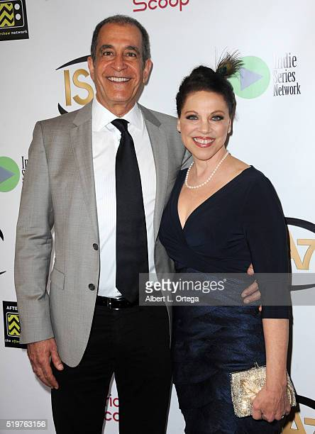 Michael Browers and Kathleen Gati at the 7th Annual Indie Series Awards held at El Portal Theatre on April 6 2016 in North Hollywood California